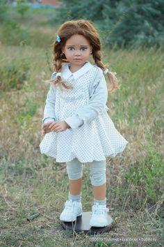 Моя новая девочка Nives Angela Sutter / Коллекционные куклы Angela Sutter / Бэйбики. Куклы фото. Одежда для кукол