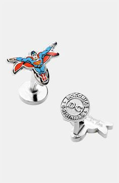 Cufflinks, Inc. 'Superman' Cuff Links available at #Nordstrom