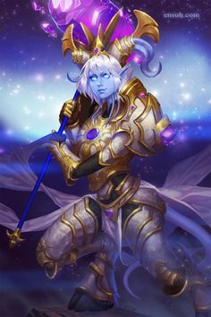 I love Yrel, she was one of the best things about Warlords of Dreanor! <3