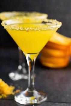 Orange Vodka Whiskey Martini | giverecipe.com |#martini #cocktail  Add couple dashes orange bitters, whiskey, maraschino cherries
