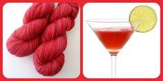 Cosmopolitan - Summer Cocktails | Red Riding Hood Yarns