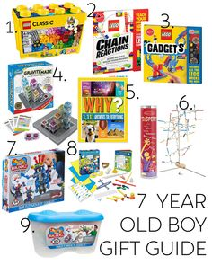 Kids Gift Guide Friday Feels - 7 year old boy gift guide - Top Gifts For Boys, Tween Boy Gifts, Presents For Boys, Toys For Boys, Tween Girls, 7 Year Old Christmas Gifts, Christmas Gifts For Boyfriend, Xmas, Christmas 2019