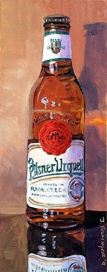 U is for Pilsner Urquell by Jennifer Bellinger