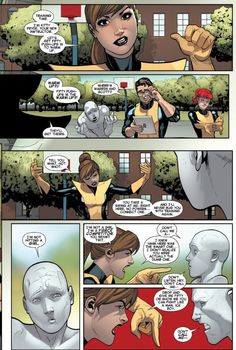 Kitty Schools Young Bobby Marvel's All New X-Men 7 by Bendis & Marquez