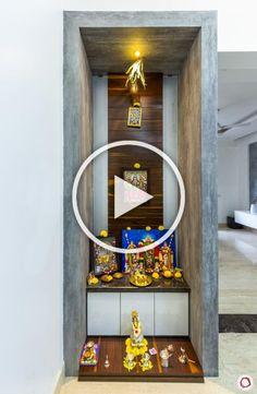pooja wall modern designs niches door 3d living mandir tv partition decor koradi gastech tr temple unit bungalow