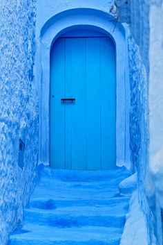 Door, Chaouen, Morocco, By Charlottine'sPics