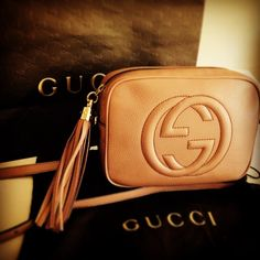 Gucci Disco Bag in Nude.