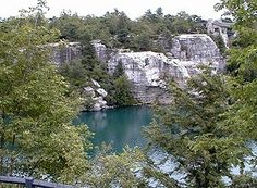 I used to live near Minnewaska State Park and was proud that I could ride my mountain bike all the way up the hill to reach this beautiful, unspoiled lake.