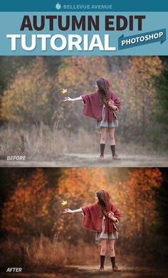 TUTORIAL : How to Edit Your Autumn Images with the Daily Fresh Blend Photoshop…