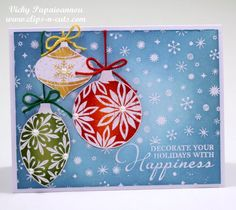 nice emboss-resist idea! the masked sentiment looks great too!!! card by Vicky at www.clips-n-cuts.com