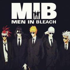Anime / Bleach / Men in Bleach