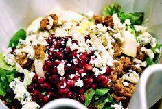 girls with good taste: delightful holiday salad