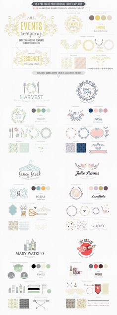 Essential branding kit for Photoshop by Lisa Glanz on Creative Market
