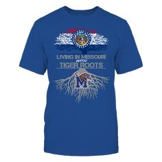 Memphis Tigers - Living Roots Missouri T-Shirt, TIP: If you buy 2 or more (hint: make a gift for someone or team up) you'll save quite a lot on shipping.  Click the GREEN BUTTON, select your size and style.  The Memphis Tigers Collection, OFFICIAL MERCHANDISE  Available Products:          Gildan Unisex T-Shirt - $24.95 Gildan Women's T-Shirt - $26.95 District Men's Premium T-Shirt - $27.95 District Women's Premium T-Shirt - $29.95 Next Level Women's Premium Racerback Tank - $29.95 Gildan…