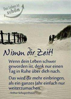 - Christine H - Motivation True Words, German Quotes, German Words, Motivational Words, Inner Peace, Happy Life, Quotations, Life Quotes, Wisdom