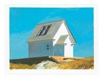 From Miles McEnery Gallery, Bo Bartlett, August 2016 Gouache on paper, 22 × 30 in Grant Wood, Bo Bartlett, Andrew Wyeth, Edward Hopper, New Art, Original Artwork, Artsy, Outdoor Structures, House Styles