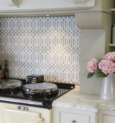 Browse the Ca' Pietra natural stone collections which will help transform the look of any room in your home. Kitchen Cupboards, Kitchen Sink, Victorian Kitchen, Feature Tiles, Encaustic Tile, Enchanted Home, Lattice Design, Decorative Tile, Cabinet Colors