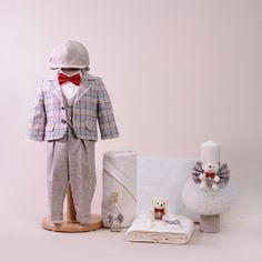 Precious Baby Boy Complete Baptism Set - AnneBebe Brand - Made In Romania Laura Biagiotti, Romania, Ferrari, Baby Boy, Boys, How To Make, Baby Boys, Senior Boys, Sons