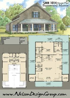 Like: huge porch, barn style, huge pantry, master shower, upstairs guest area; Change: need attached garage