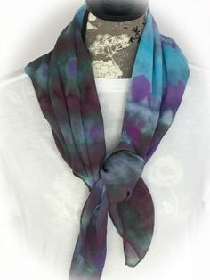 Light as a feather! These gorgeous chiffon scarves just soak up color! We have hand dyed a beautiful selection of rectangular and square scarves in the lightest silk chiffon. You'll love wearing these scarves even on a blistering hot afternoon! Our rectangular scarves measure approximately 60″ long and 12″ wide.  The squares measure approximately... View Article