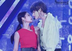 Social Media is their way to fell in love with each other -♡ sᴛ… Bts Blackpink, Bts Taehyung, Jimin, Ulzzang Couple, Ulzzang Girl, Bts Pictures, Photos, Bts Girlfriends, Park Bo Young