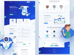 Hello everyone! Landing Page Examples, Best Landing Pages, Landing Page Design, Flat Web Design, Web Design Trends, App Design, Mobile Design, Pag Web, Landing Page Inspiration