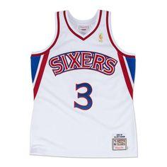 Allen Iverson 1996-97 Authentic Jersey Philadelphia 76ers Allen Iverson 1dece2533f8