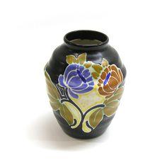 Vintage 1930s Gouda Schoonhoven Pottery Vase by 42ndAvenueVintage