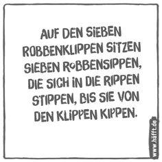 6 lustige Zungenbrecher · Häfft.de