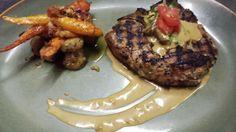 Grilled Veal Chop w/ Porcini Mushrooms