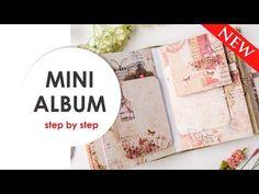 Enjoy your life: Декорируем странички мини-альбома. Scraps Of Darkness February Kit