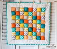 Sawyer Puff Quilt--super cute!