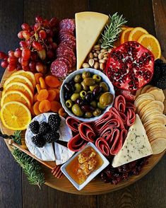 Charcuterie Board (meat and cheese platter) - Modern Honey . - Charcuterie Board (meat and cheese platter) – Modern Honey - Charcuterie Board Meats, Plateau Charcuterie, Charcuterie Recipes, Charcuterie Cheese, Appetizers For Party, Appetizer Recipes, Thanksgiving Appetizers, Fruit Appetizers, Party Snacks