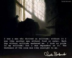 Charles Bukowski.