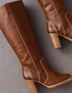 Vintage Heeled Boots AZ157 Boots at Boden #bodenchristmaswishlist