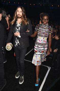 Jared Leto & Lupita Nyong'o  (April 2014)