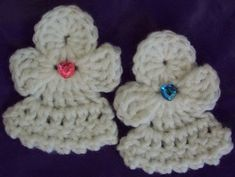 Tiny CROCHET angels pattern