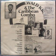 The late Ewald Krolis (of the Caribbean Combo), he was one of the best Kaseko artists of Suriname.