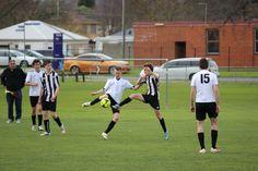 Action shot, U17 White vs U17 Black
