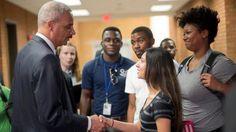 Eric Holder in Ferguson