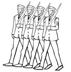 30 En Iyi Askerler Goruntusu Askeri Cizim Ve Alfabe Boyama