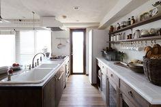 「造作 キッチン背面収納」の検索結果 - Yahoo!検索(画像)