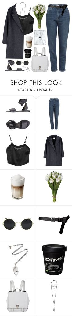 """nightgowns"" by beachy-palms ❤ liked on Polyvore featuring Solo, Topshop, Kiki de Montparnasse, MM6 Maison Margiela, ASOS, Pamela Love, Proenza Schouler and Natalie B"