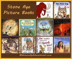 Stone Age Picture Books for Children.