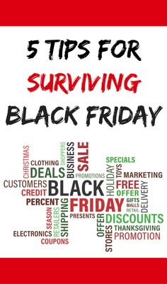 e8837cf27c 5 tips for surviving Black Friday! Sign up to receive free printable  planners! Shopping
