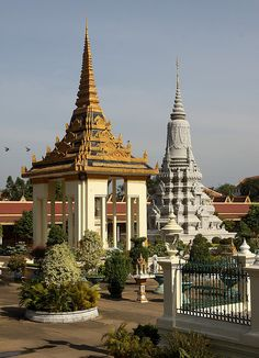 Silver Pagoda and the Royal Palace Complex - Phnom Penh Cambodia