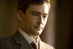 David Tennant. Specs and suit.