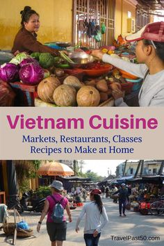The flavors of Vietnam are discovered in restaurants, markets, and cooking classes across the country. Best Places To Eat, Cool Places To Visit, Wanderlust Travel, Asia Travel, Thailand, Vietnam Travel Guide, California Food, Japanese Travel, Drinking Around The World