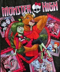 Love is in the Air Monster High School, Monster High Art, Monster High Characters, Monster High Birthday, Monster High Dolls, Image Monster, Wolf Movie, Personajes Monster High, Demon Drawings
