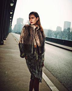 Marine Deleeuw by Serge Leblon for Bergdorf Goodman Magazine Pre Fall 2014 11